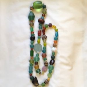 Jewelry - Frosted Glass Necklace